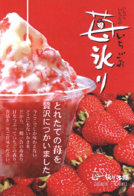 フルーツカキ氷り苺氷り|つくば市の株式会社アオイ